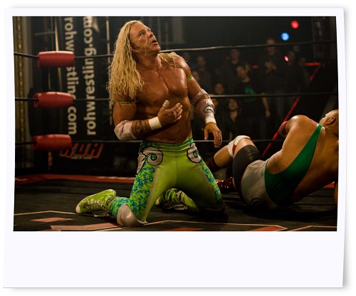 Mickey Rourke Buffed Up for The Wrestler